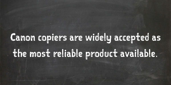 """""""What is the Most Reliable Copier Brand Available?"""""""