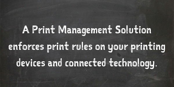 7 Print Management Solutions That Reduce Printing Costs