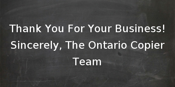 Our People Make Ontario Copier the Best Place to Buy Copiers in Toronto & Mississauga